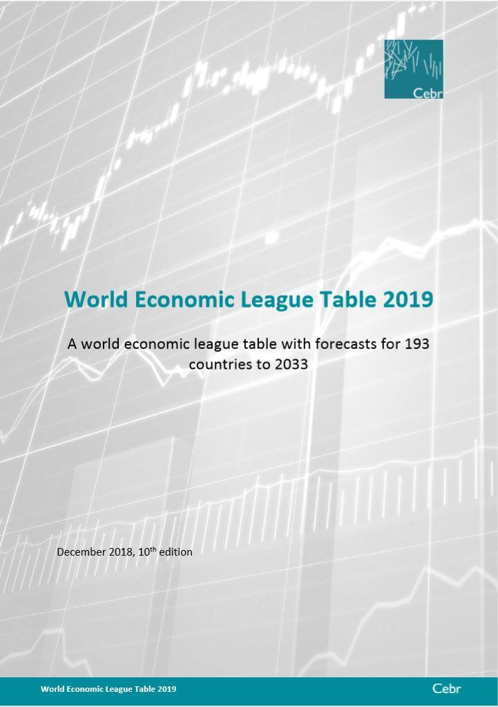 CEBR WELT 2019 보고서