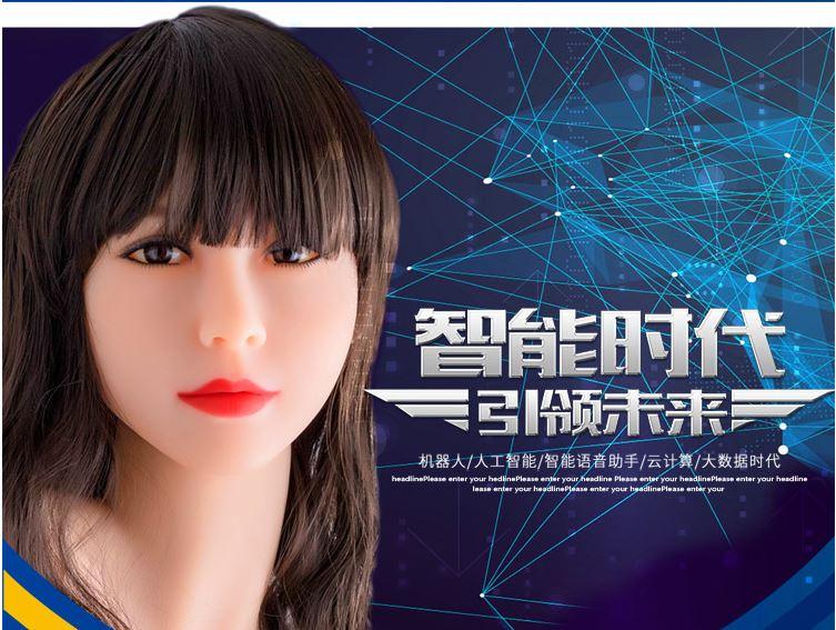 중국 업체 진싼와와의 AI형 성인용 인형 / 진싼와와 홈페이지
